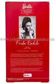 Frida Kahlo doll box back
