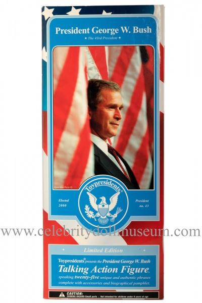 George W. Bush talking doll box frount