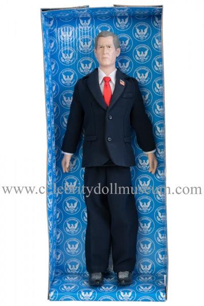 George W. Bush talking doll box insert