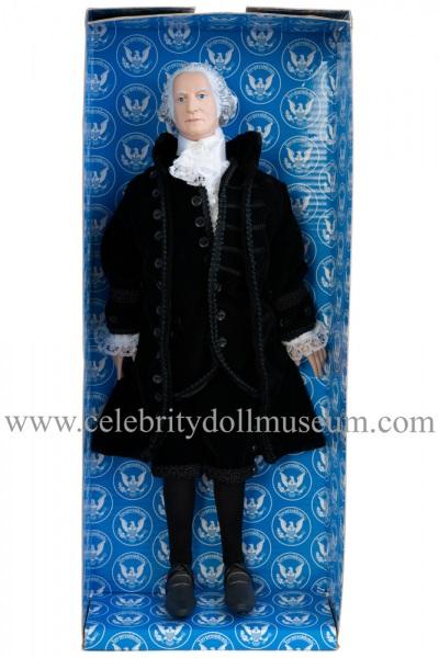 George Washington talking doll box insert