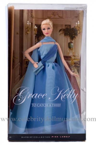 Grace Kelly doll box fron