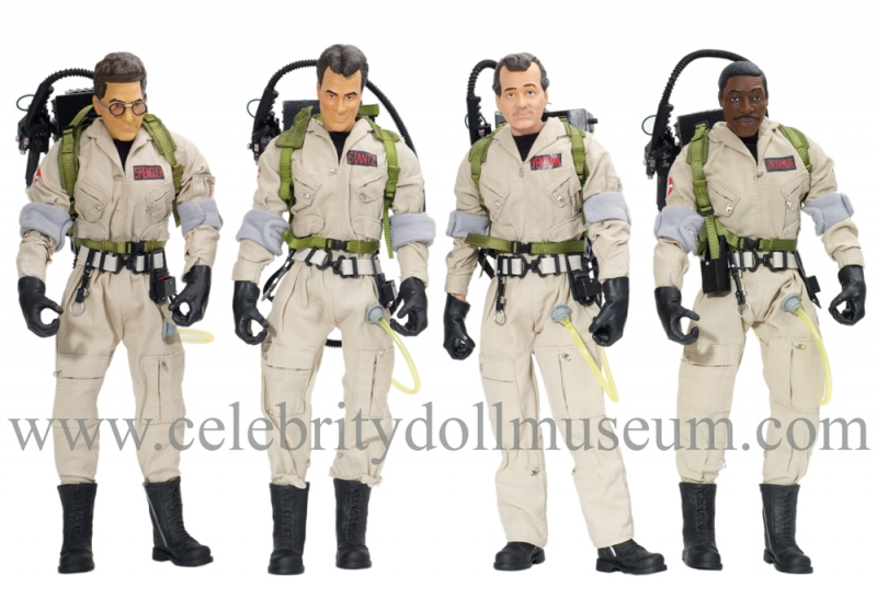 Ghostbusters action figures