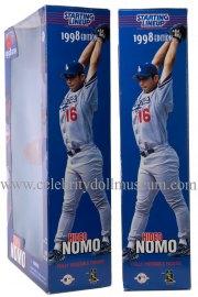 Hideo Nomo doll box sides