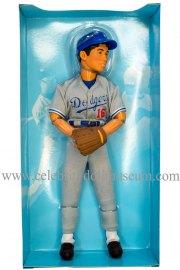 Hideo Nomo doll box insert