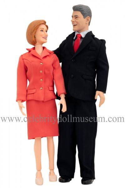 Bill and Hillary Clinton Toypresident Dolls