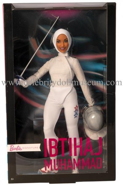 Ibtihaj Muhammad doll box front