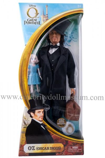 James Franco doll box front