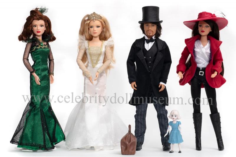 Oz the Great and Powerfu dolls