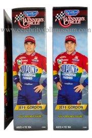 Jeff Gordon doll box sides