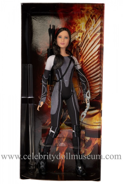 Jennifer Lawrence doll box insert