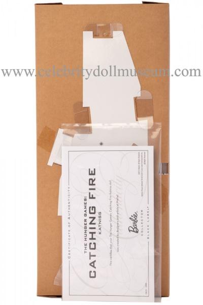Jennifer Lawrence doll box insert back