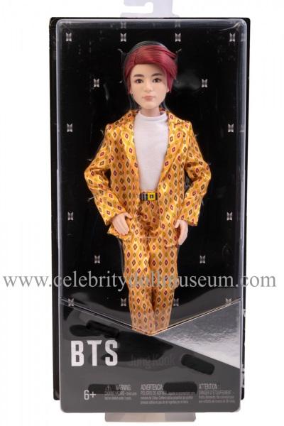 Jungkook BTS doll box front