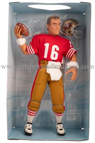Joe Montana Action Figure Box Insert