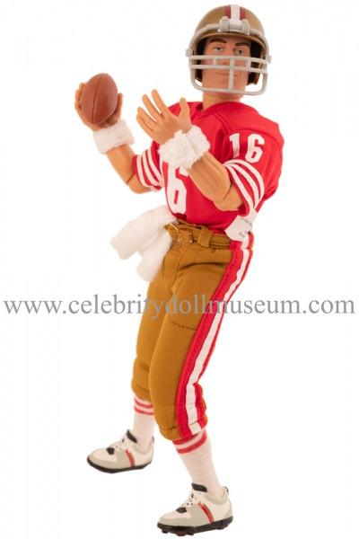 Joe Montana Action Figure