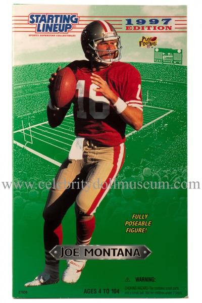 Joe Montana Action Figure Box front