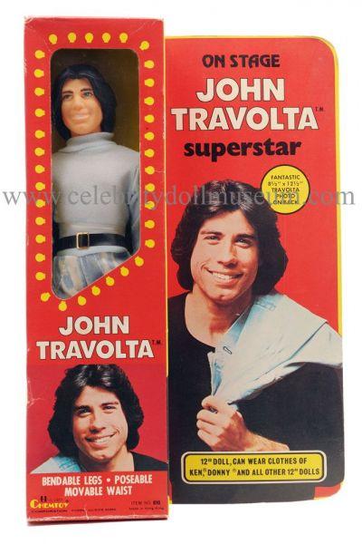 John Travolta doll dox box