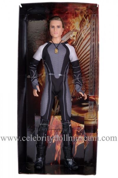 Josh Hutcherson doll box insert