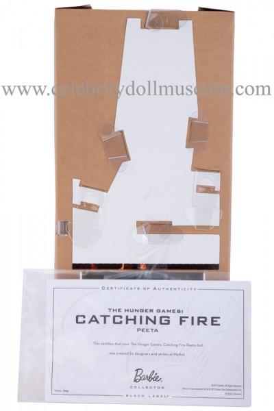 Josh Hutcherson doll box insert back