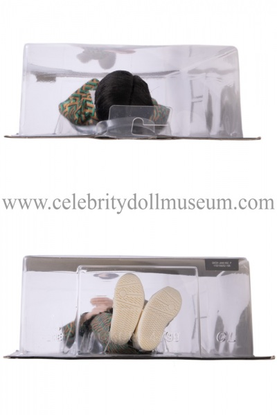 J-Hope BTS doll box top and bottom