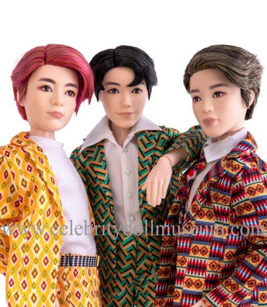 BTS dolls JungKook, j-hope and Jimin