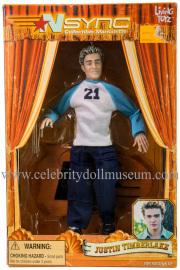 Justin Timberlake doll box