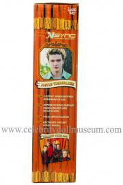 Justin Timberlake doll box side