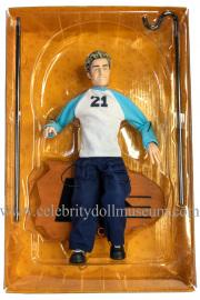 Justin Timberlake doll box insert