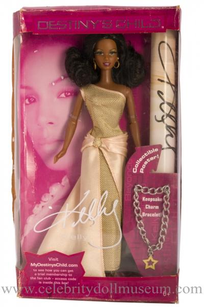 Kelly Rowland doll beat up box