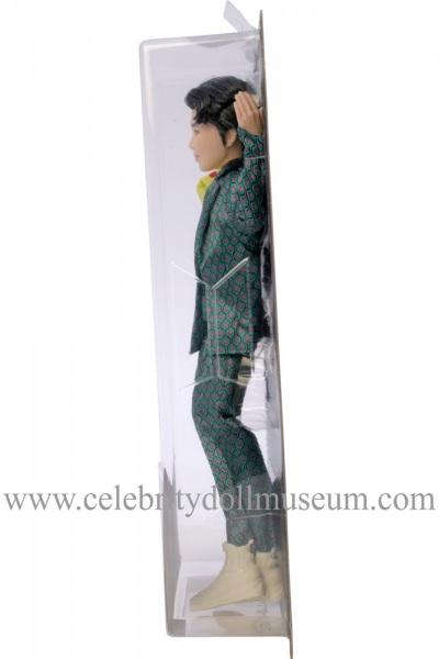 RM BTS doll box side