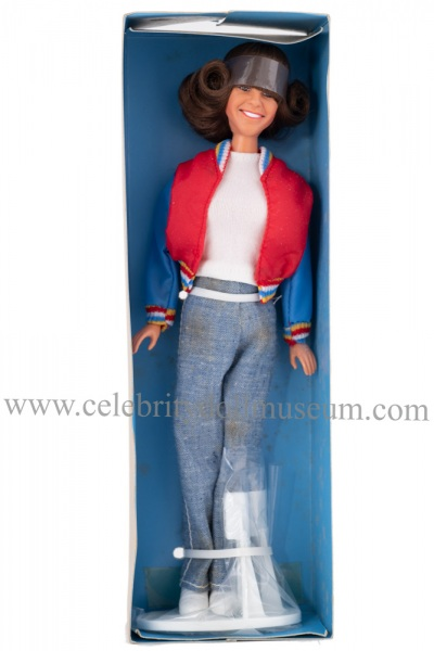 Kristy McNichol doll box insert
