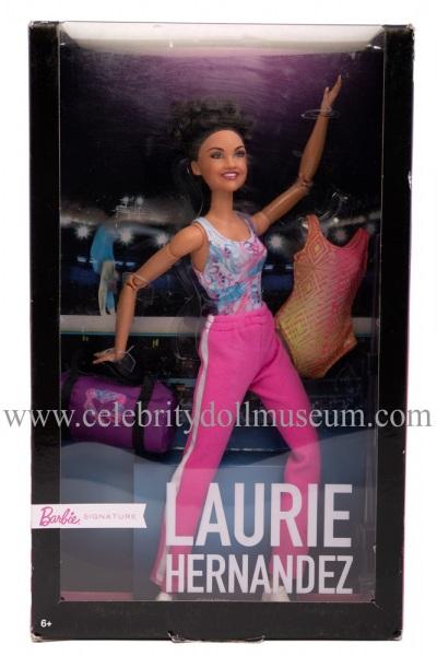 Laurie Hernandez doll box