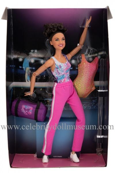 Laurie Hernandez doll box insert