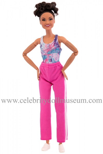 Laurie Hernandez doll