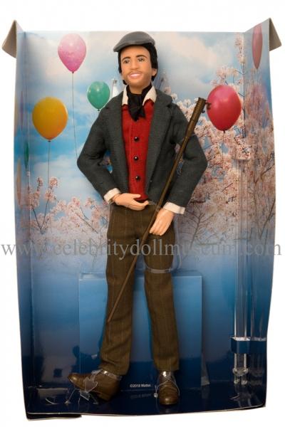Lin-Manuel Miranda doll box insert