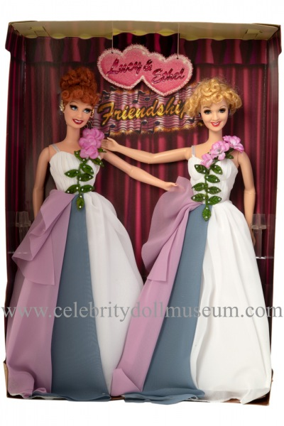 Lucille Ball and Vivian Vance dolls