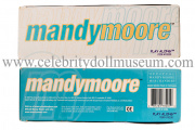 Mandy Moore doll box top and bottom