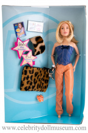 Mandy Moore doll box insert