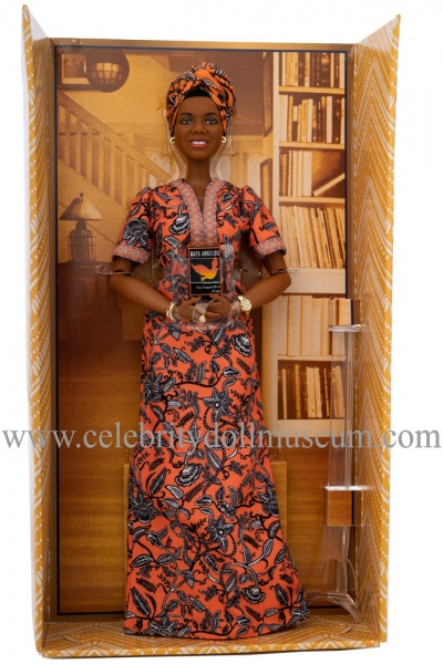 Maya Angelou doll box insert