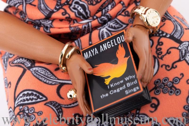 Maya Angelou doll