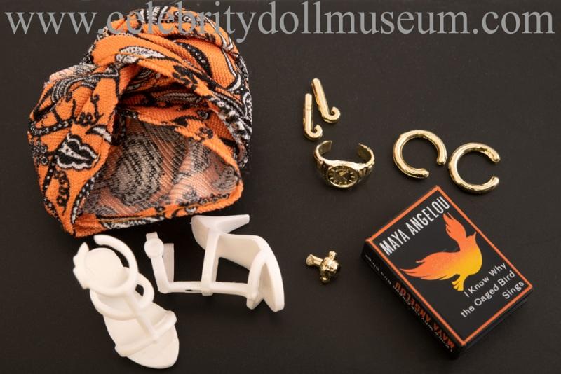 Maya Angelou doll accessories