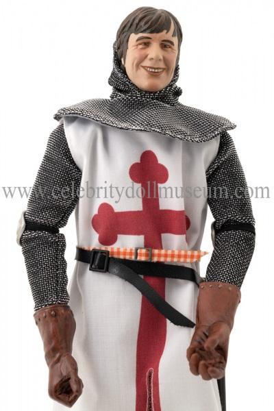 Michael Palin Sir Galahad Monty Python doll