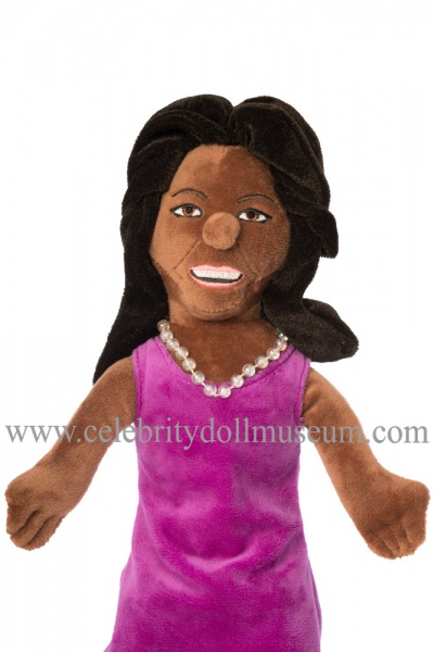 Michelle Obama plush doll