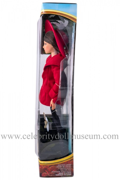 Mila Kunis doll box side