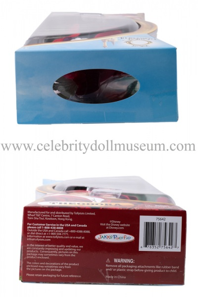 Mila Kunis doll box top and bottom