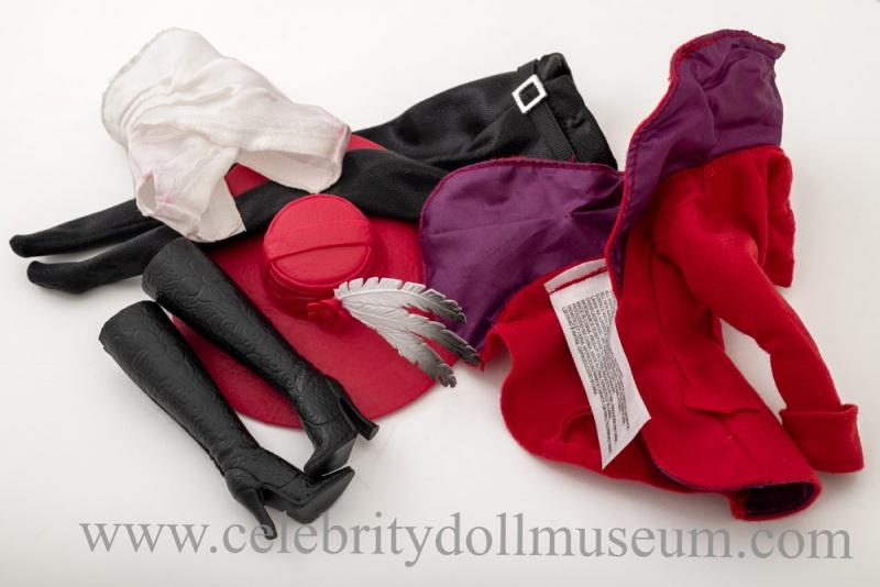 Mila Kunis doll accessories