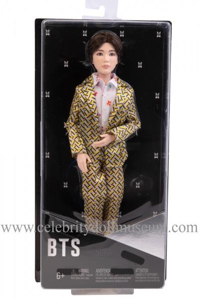 SUGA BTS doll box front