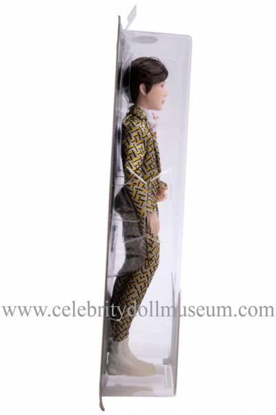 SUGA BTS doll doll box other side