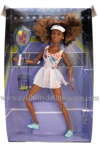 Naomi Osaka doll box insert