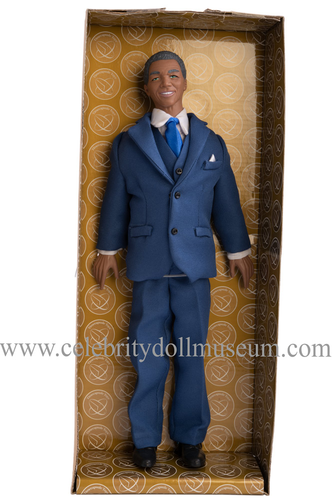Nelson Mandela talking doll box insert
