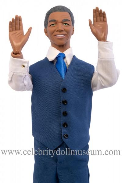 Nelson Mandela talking doll